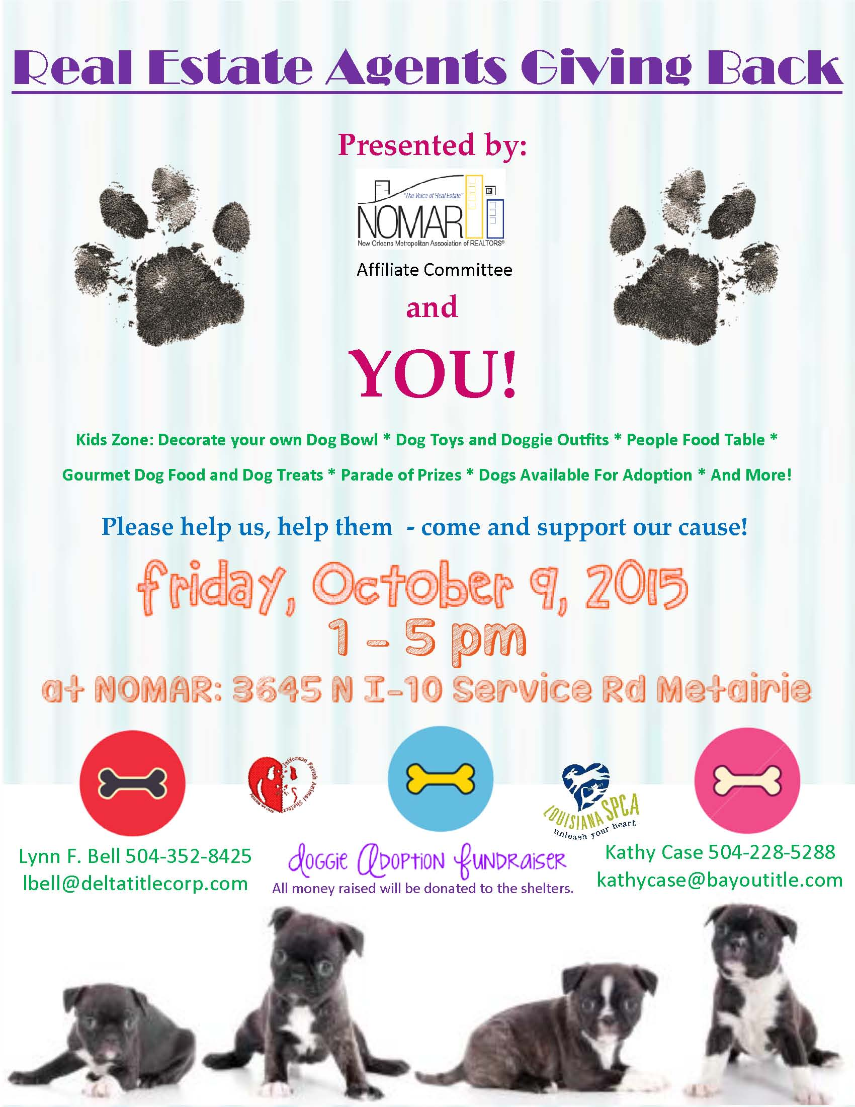 NOMAR Pet Adoption Agent and Client flier