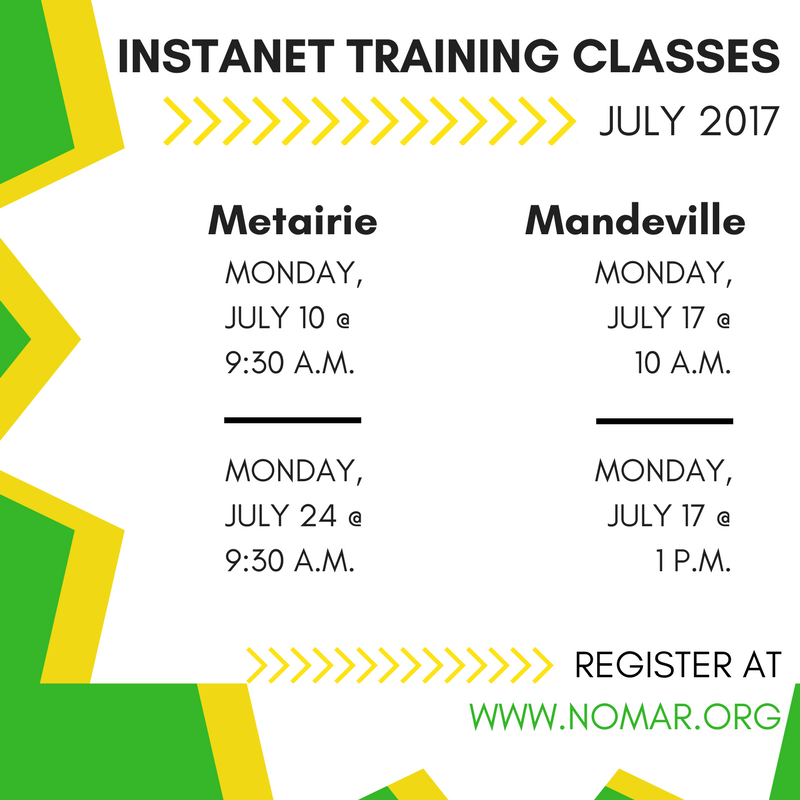 Instanet Training Classes