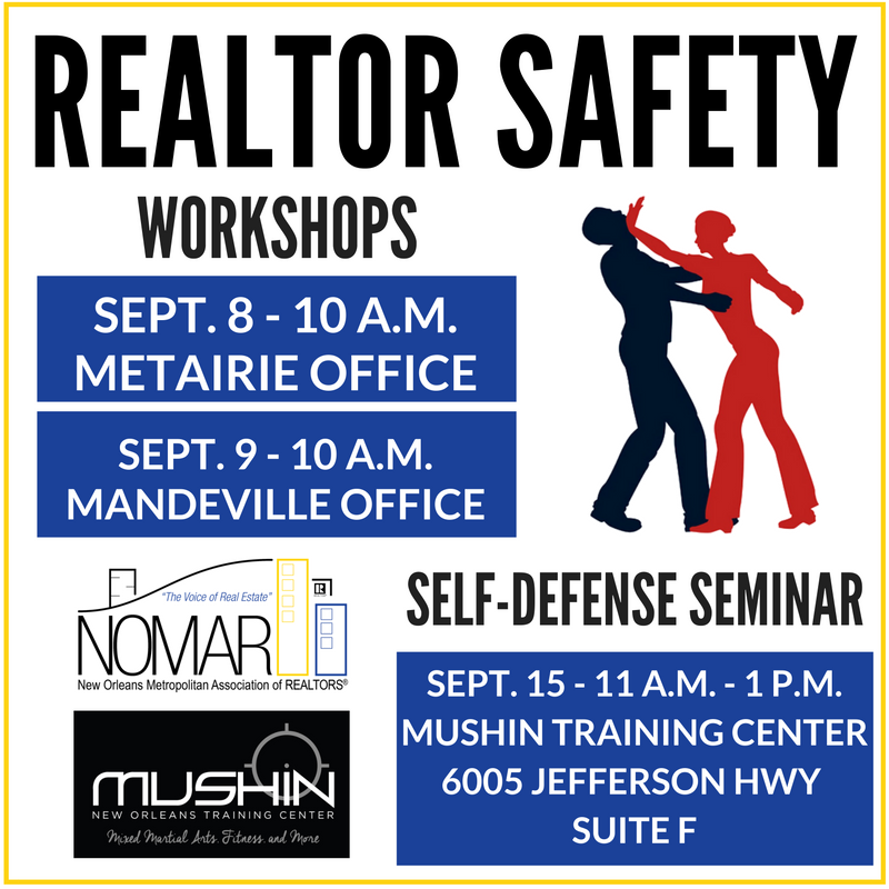 REALTOR Safety Soc Me graphic